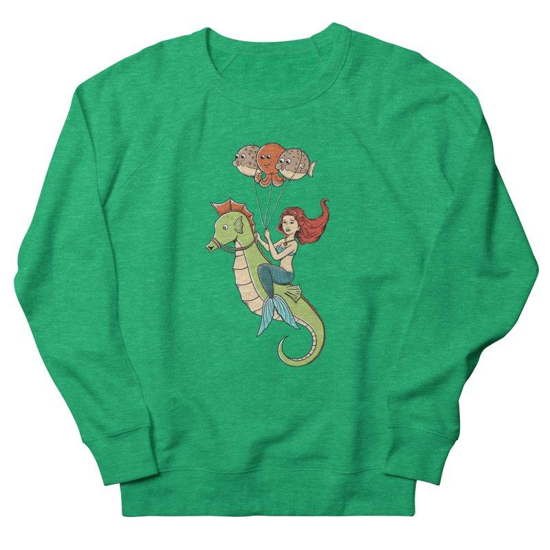 Mermaid Women's Sweatshirt by coffeeman's Artist Shop