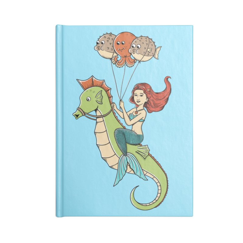Mermaid Accessories Lined Journal Notebook by coffeeman's Artist Shop