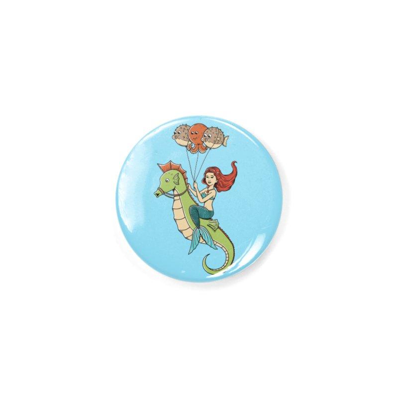 Mermaid Accessories Button by coffeeman's Artist Shop
