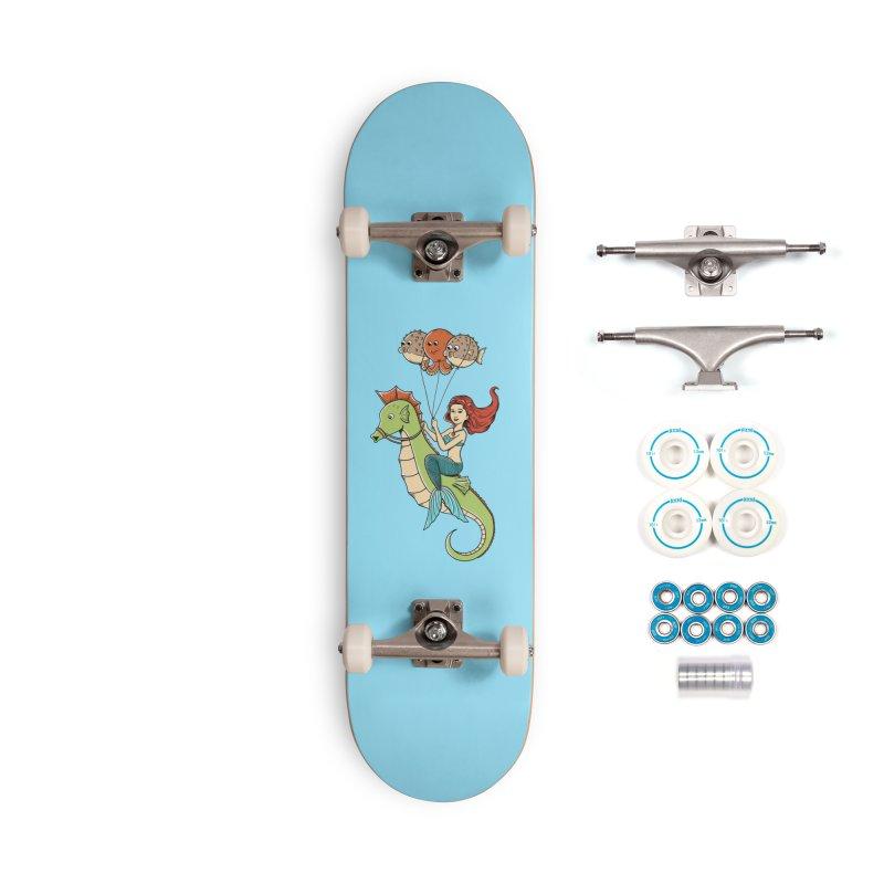 Mermaid Accessories Complete - Basic Skateboard by coffeeman's Artist Shop
