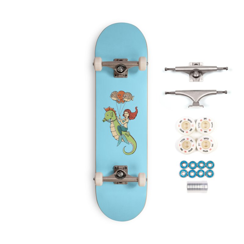 Mermaid Accessories Complete - Premium Skateboard by coffeeman's Artist Shop