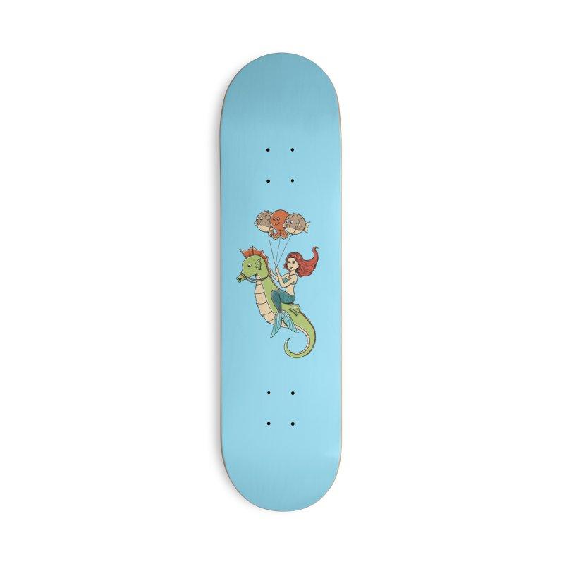 Mermaid Accessories Deck Only Skateboard by coffeeman's Artist Shop