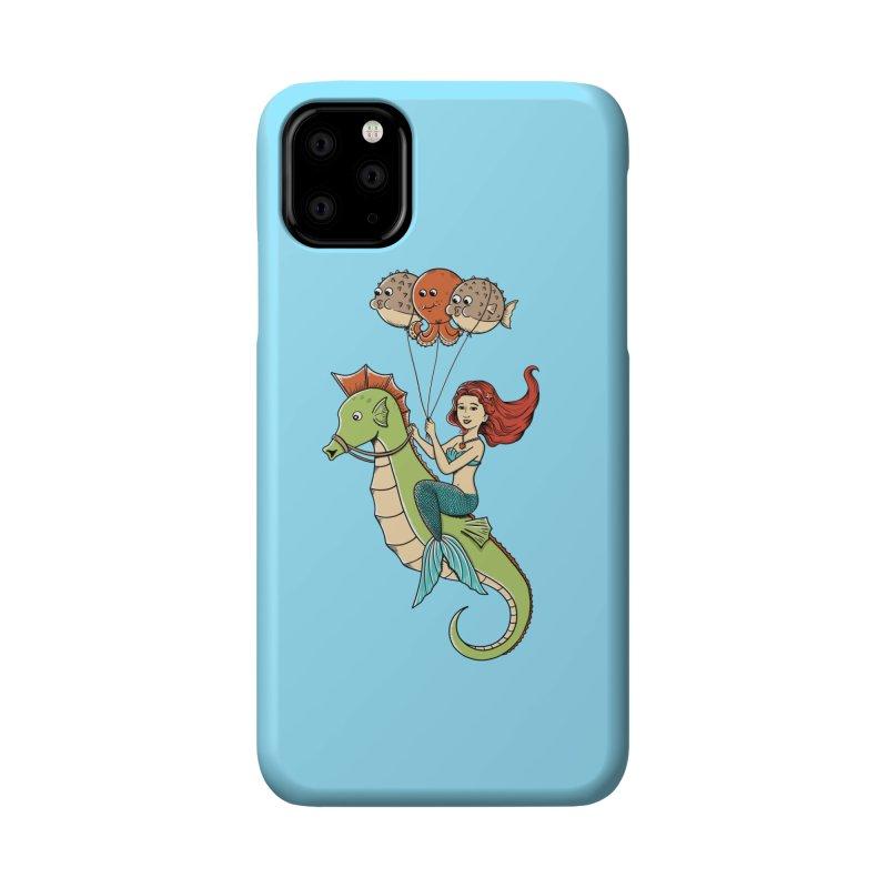 Mermaid Accessories Phone Case by coffeeman's Artist Shop