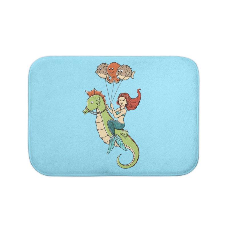 Mermaid Home Bath Mat by coffeeman's Artist Shop