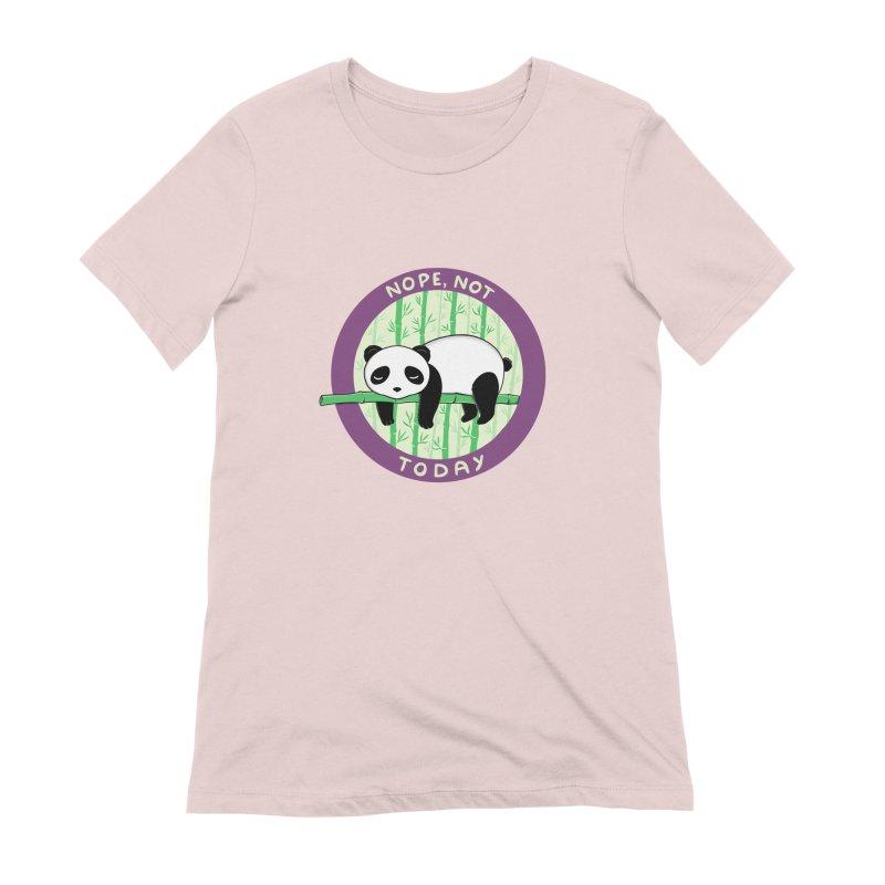 Bear Nope today Women's Extra Soft T-Shirt by coffeeman's Artist Shop