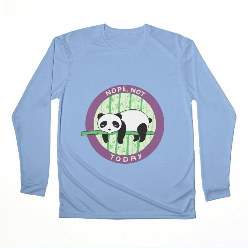 Bear Nope today Men's Longsleeve T-Shirt by coffeeman's Artist Shop