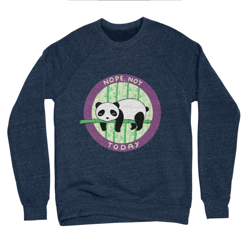Bear Nope today Women's Sponge Fleece Sweatshirt by coffeeman's Artist Shop