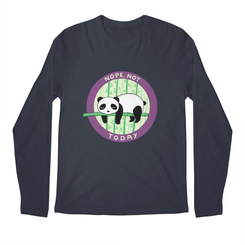 Bear Nope today Men's Regular Longsleeve T-Shirt by coffeeman's Artist Shop