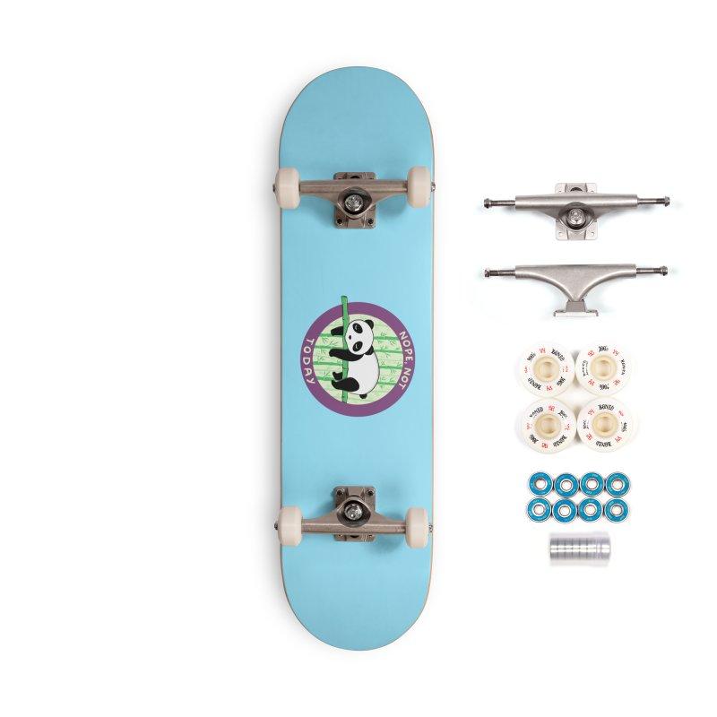 Bear Nope today Accessories Complete - Premium Skateboard by coffeeman's Artist Shop