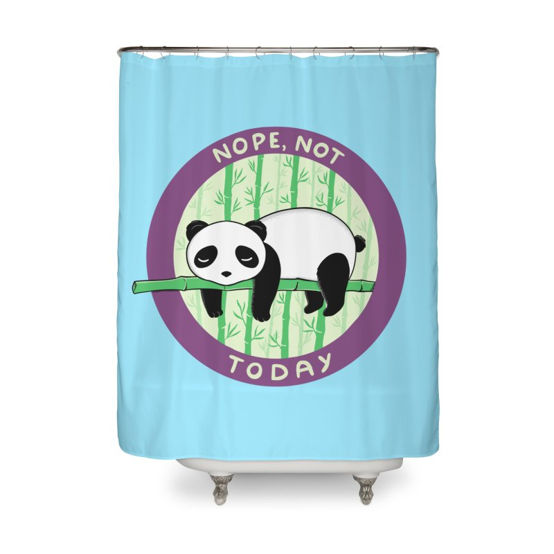 Bear Nope today Home Shower Curtain by coffeeman's Artist Shop