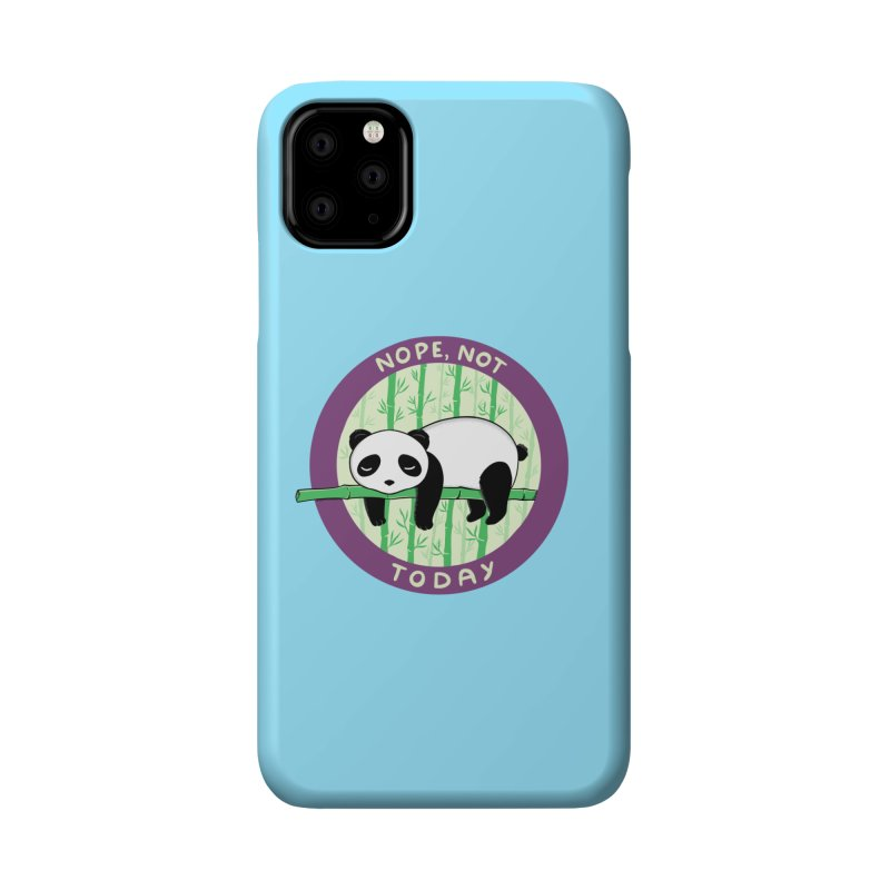 Bear Nope today Accessories Phone Case by coffeeman's Artist Shop