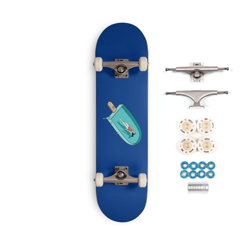 Afloat relax Accessories Complete - Premium Skateboard by coffeeman's Artist Shop