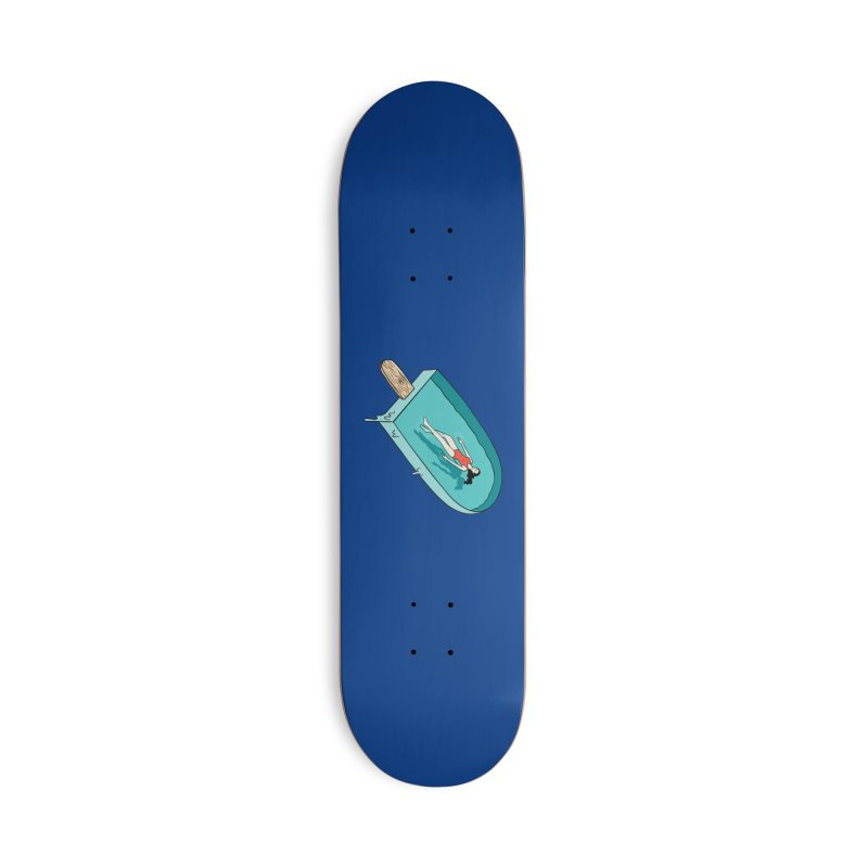 Afloat relax Accessories Deck Only Skateboard by coffeeman's Artist Shop