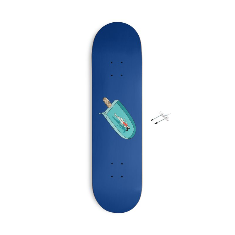 Afloat relax Accessories With Hanging Hardware Skateboard by coffeeman's Artist Shop