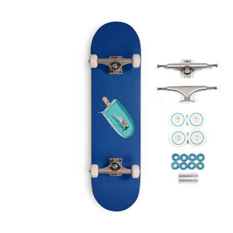 Afloat relax Accessories Complete - Basic Skateboard by coffeeman's Artist Shop