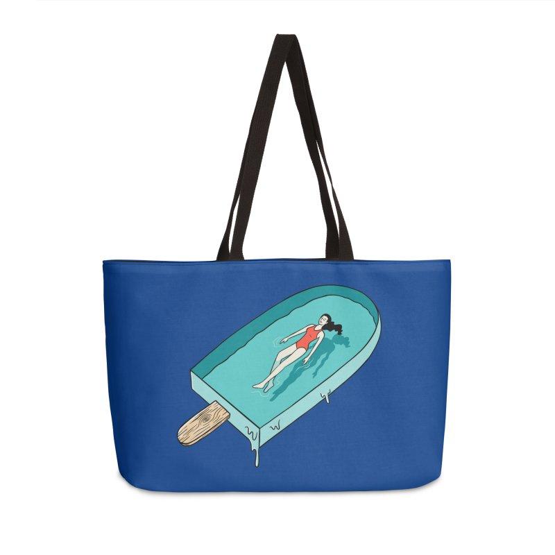 Afloat relax Accessories Weekender Bag Bag by coffeeman's Artist Shop