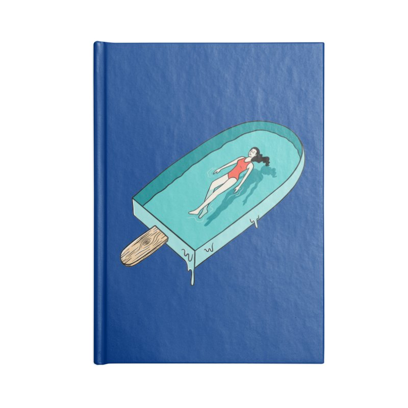 Afloat relax Accessories Lined Journal Notebook by coffeeman's Artist Shop