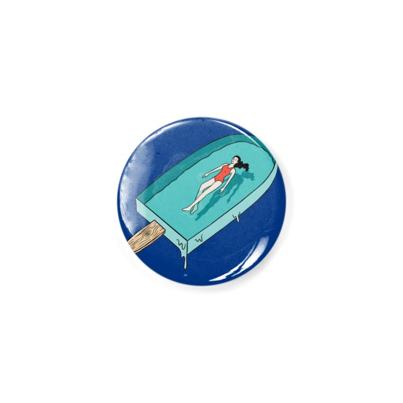 Afloat relax Accessories Button by coffeeman's Artist Shop