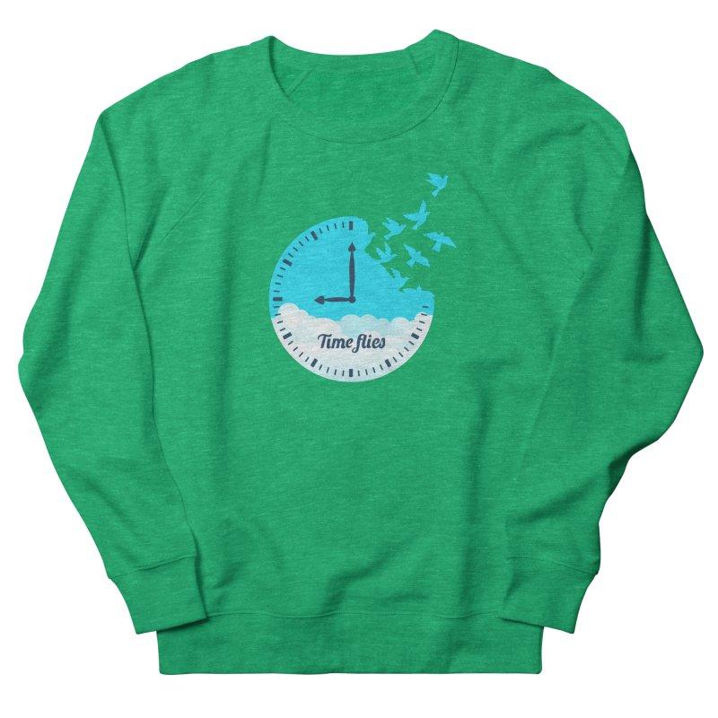 Birds Time Flies Women's Sweatshirt by coffeeman's Artist Shop