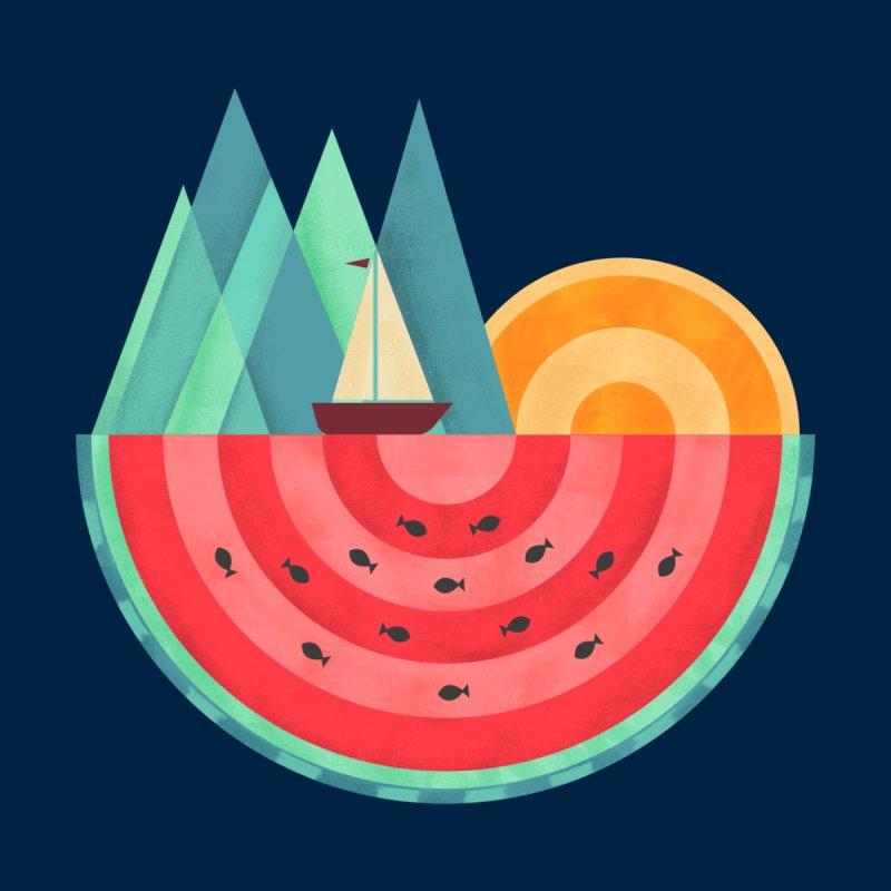 Nature Watermelon Men's Sweatshirt by coffeeman's Artist Shop