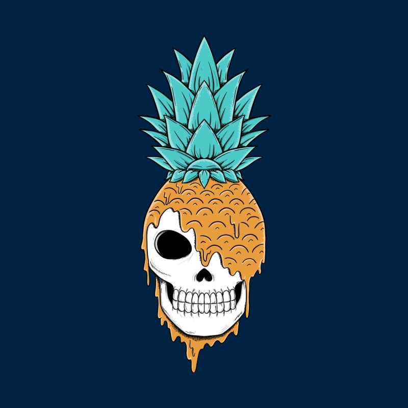 Skull Pineapple Men's Tank by coffeeman's Artist Shop