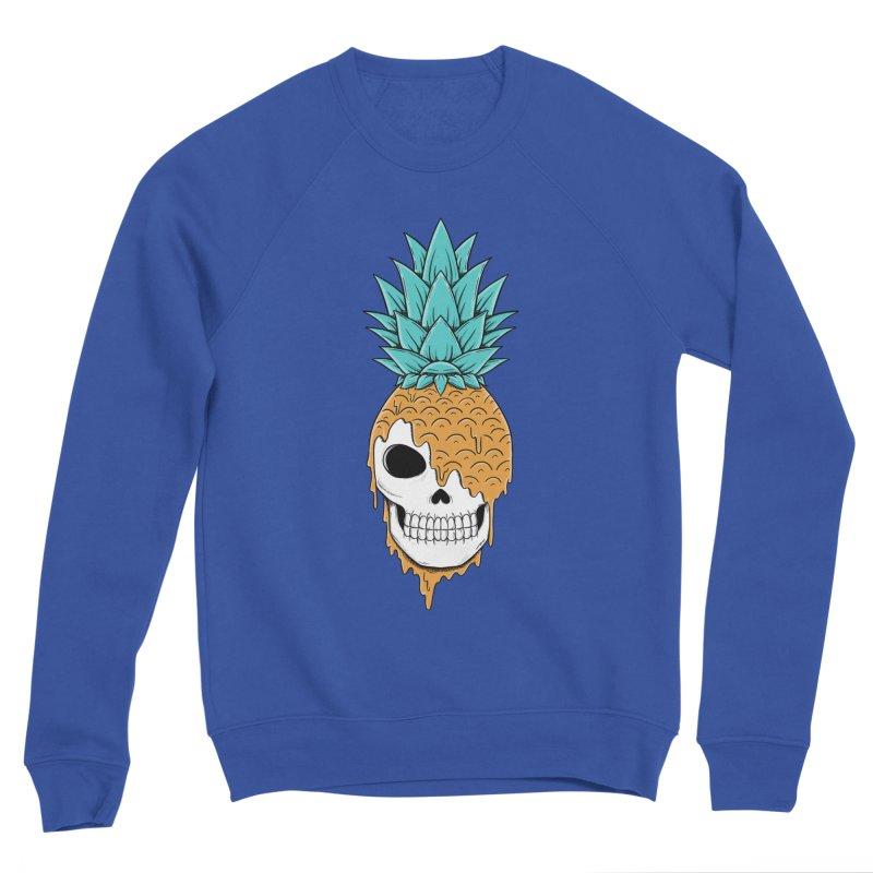 Skull Pineapple Men's Sweatshirt by coffeeman's Artist Shop