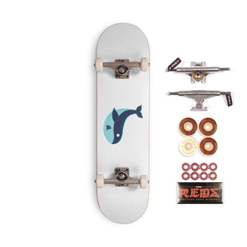 Nature Whale Accessories Skateboard by coffeeman's Artist Shop