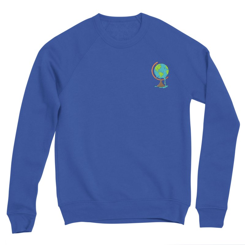 Pocket planet Men's Sweatshirt by coffeeman's Artist Shop