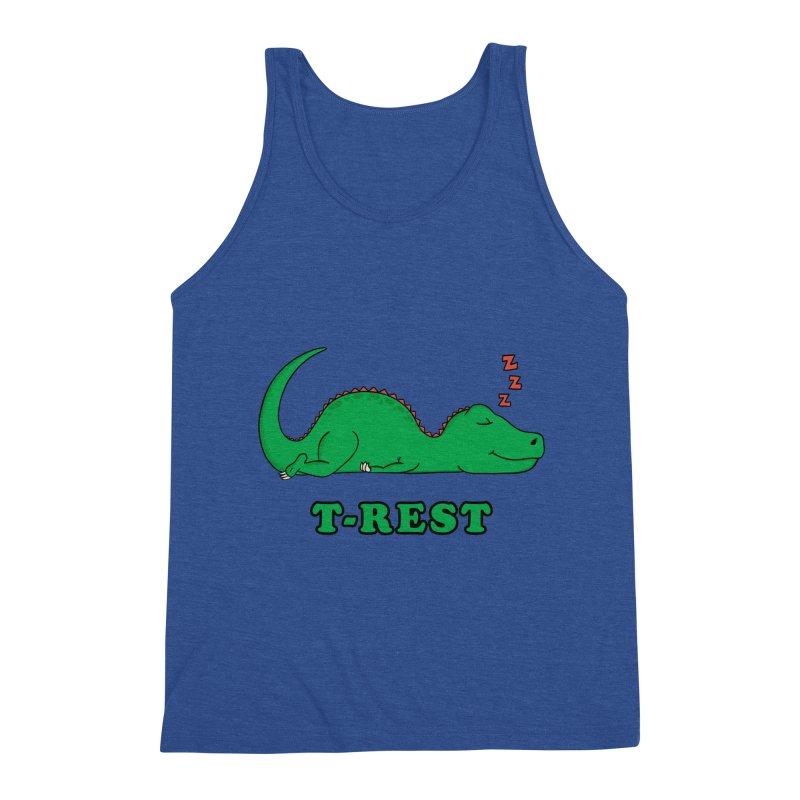 Dinosaur T-rest Men's Tank by coffeeman's Artist Shop