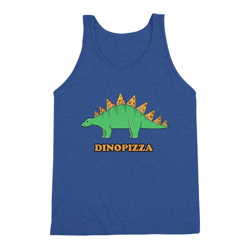 Dinosaur Pizza Men's Tank by coffeeman's Artist Shop
