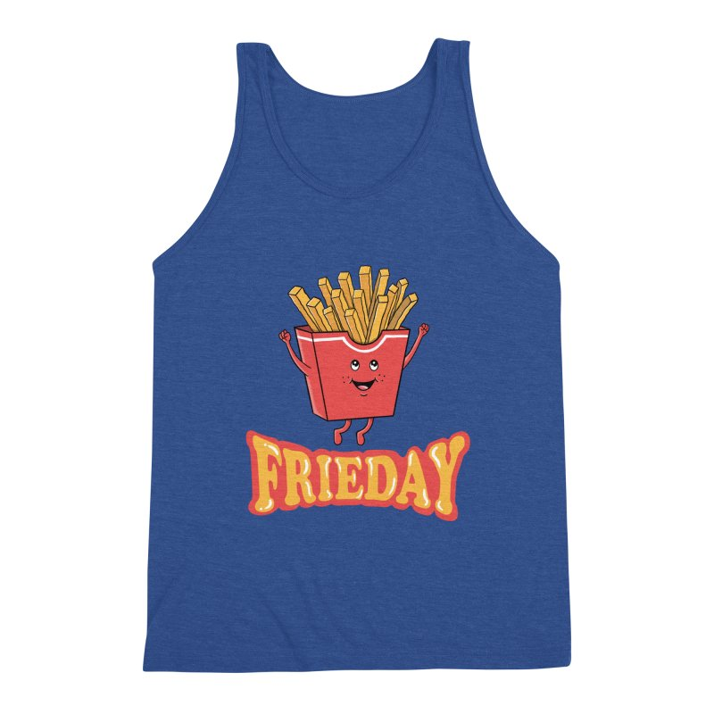 Funny Fast Food Men's Tank by coffeeman's Artist Shop