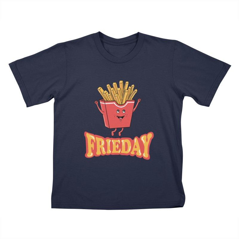 Funny Fast Food Kids T-Shirt by coffeeman's Artist Shop