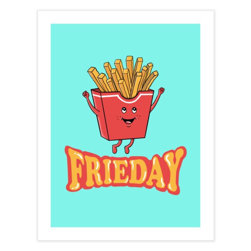 Funny Fast Food Home Fine Art Print by coffeeman's Artist Shop