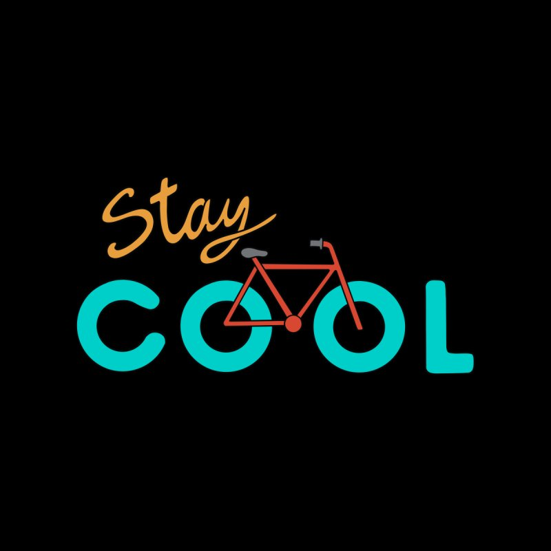 Bicycle Stay Cool Men's Pullover Hoody by coffeeman's Artist Shop
