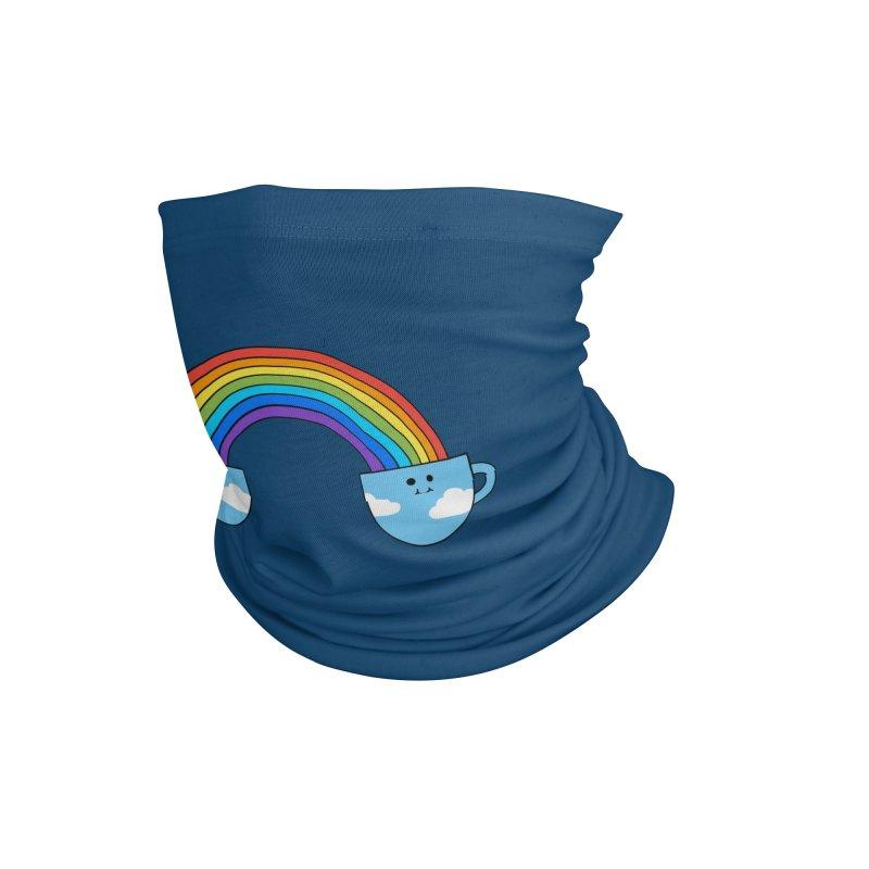 Coffee Rainbow Accessories Neck Gaiter by coffeeman's Artist Shop