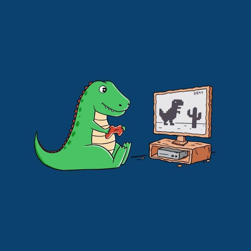 Dinosaur Gaming Accessories Neck Gaiter by coffeeman's Artist Shop
