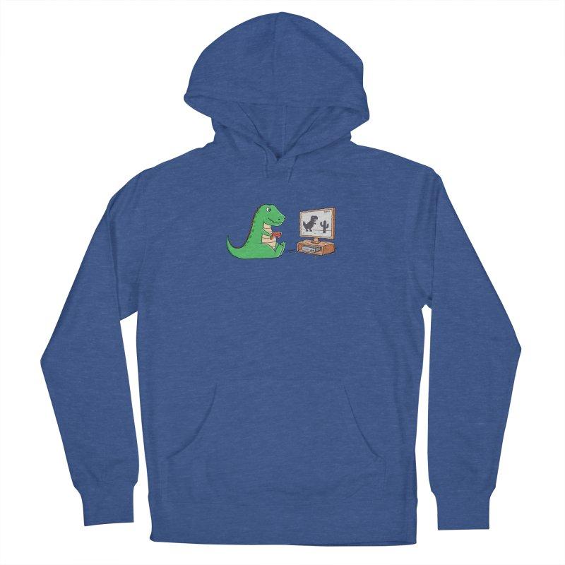 Dinosaur Gaming Men's Pullover Hoody by coffeeman's Artist Shop