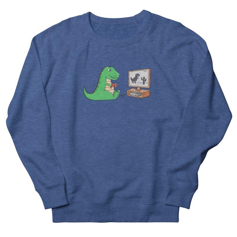 Dinosaur Gaming Men's Sweatshirt by coffeeman's Artist Shop
