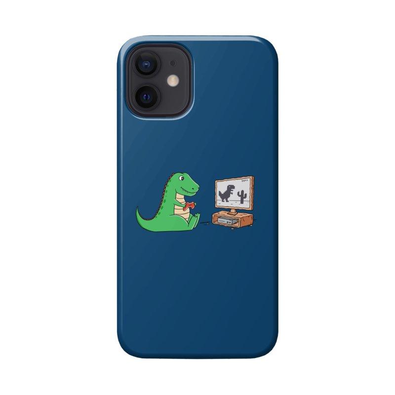 Dinosaur Gaming Accessories Phone Case by coffeeman's Artist Shop