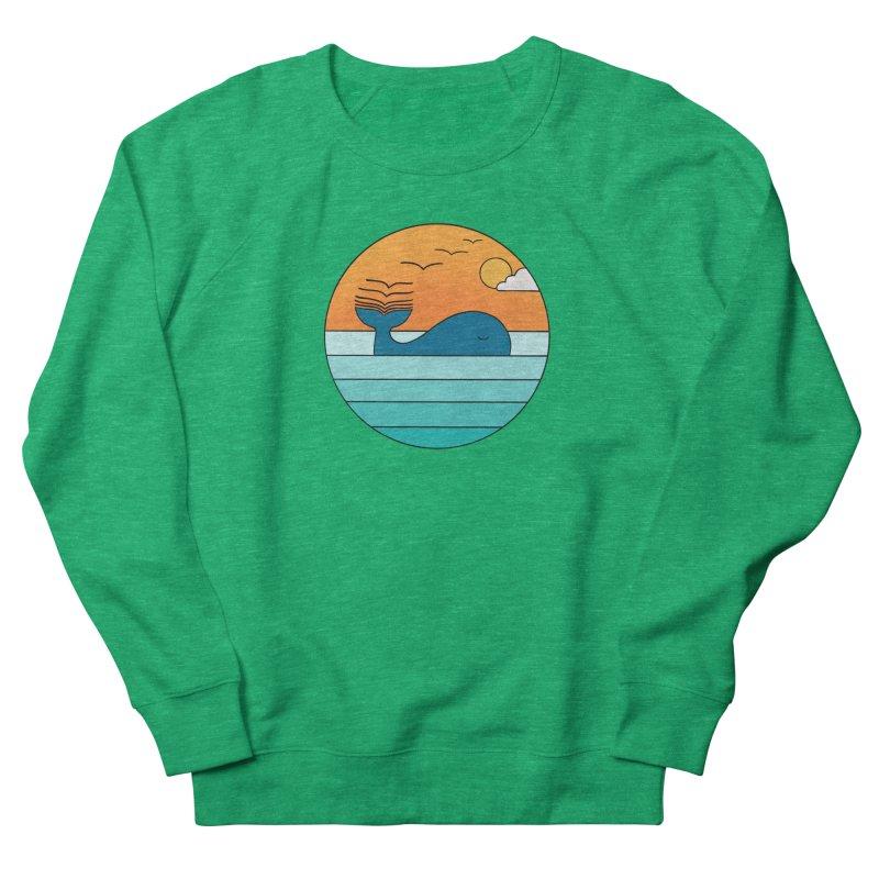 Nature whale birds Women's Sweatshirt by coffeeman's Artist Shop