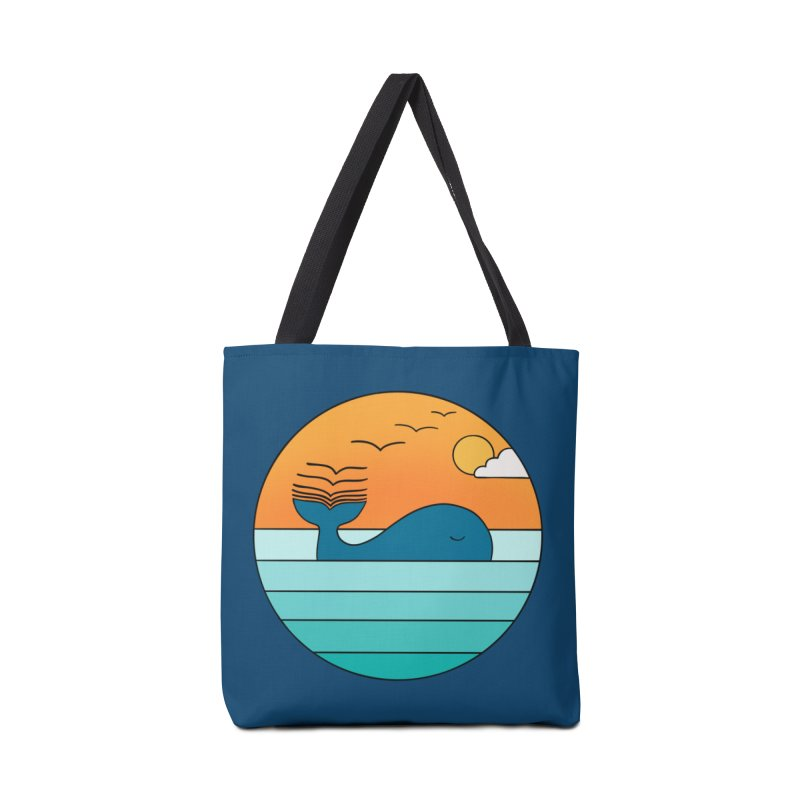 Nature whale birds Accessories Bag by coffeeman's Artist Shop