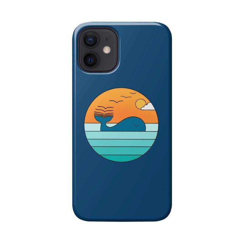 Nature whale birds Accessories Phone Case by coffeeman's Artist Shop