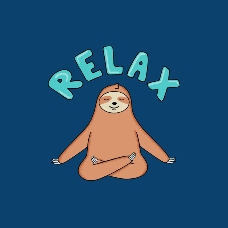 Sloth Relax Yoga Accessories Phone Case by coffeeman's Artist Shop