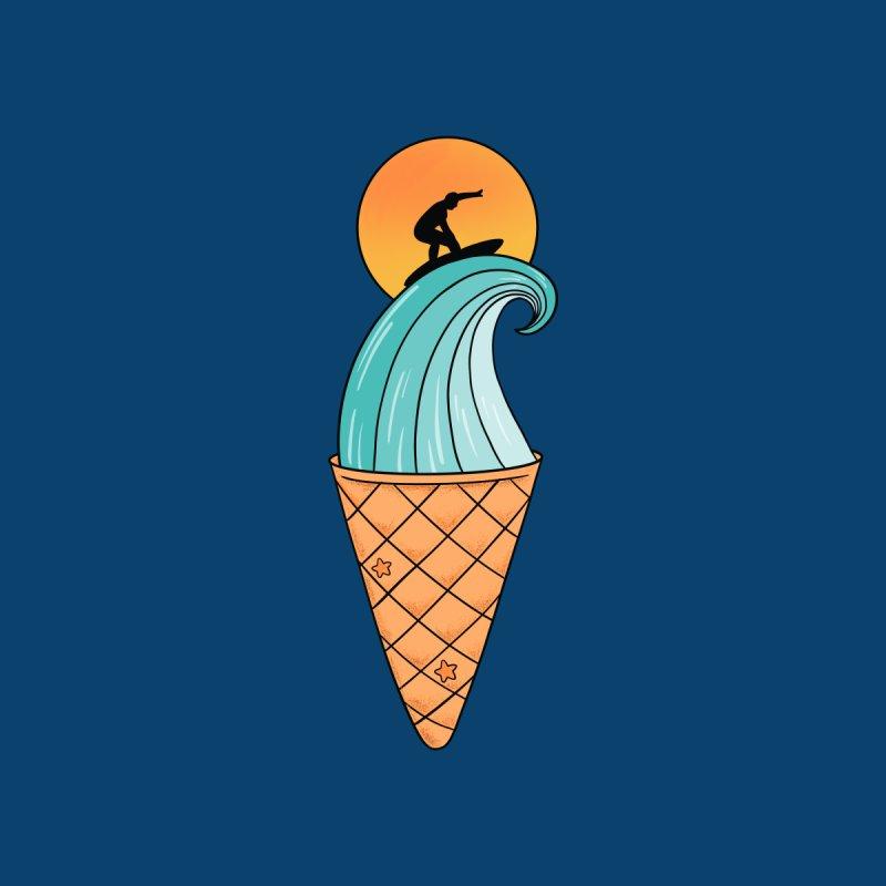 Nature Wave Ice Cream Men's T-Shirt by coffeeman's Artist Shop