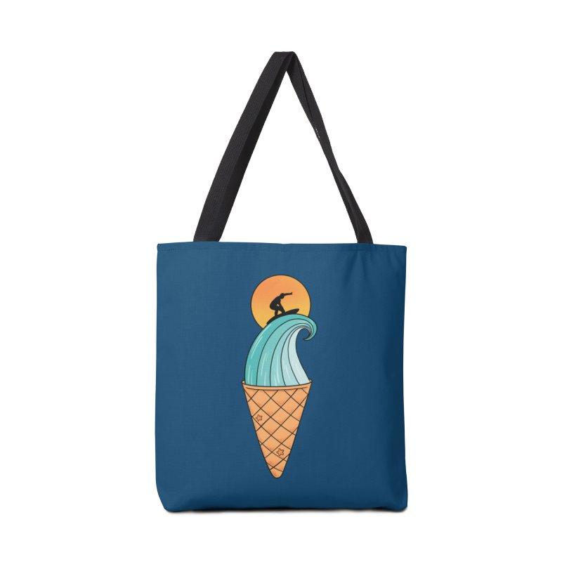 Nature Wave Ice Cream Accessories Bag by coffeeman's Artist Shop