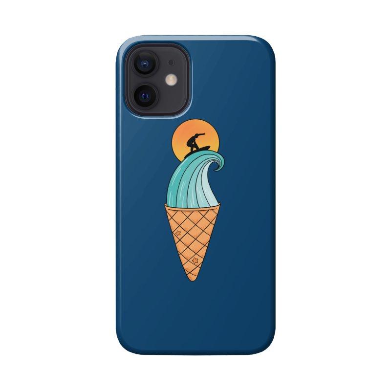 Nature Wave Ice Cream Accessories Phone Case by coffeeman's Artist Shop