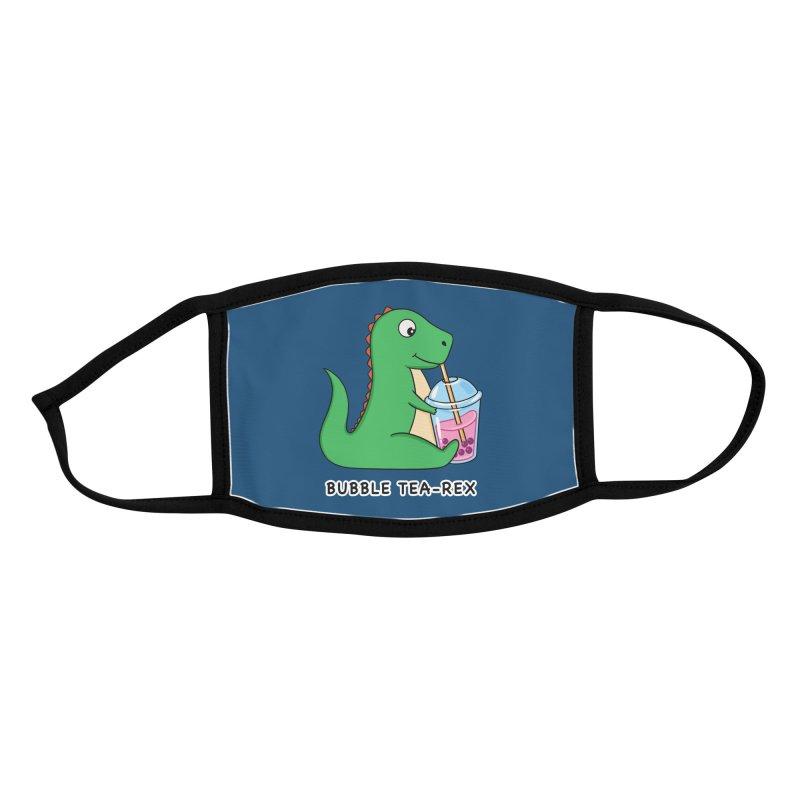 Dinosaur Tea Rex Accessories Face Mask by coffeeman's Artist Shop
