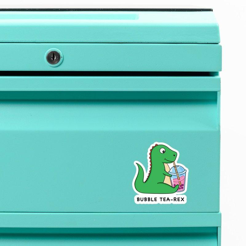 Dinosaur Tea Rex Accessories Magnet by coffeeman's Artist Shop