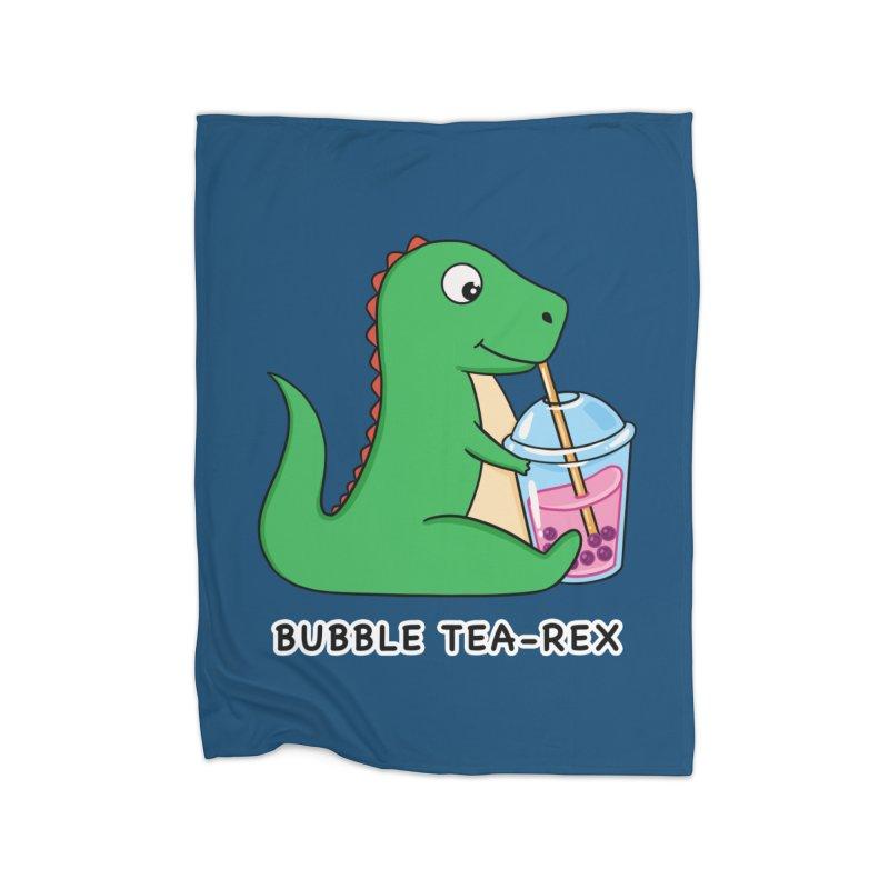 Dinosaur Tea Rex Home Blanket by coffeeman's Artist Shop