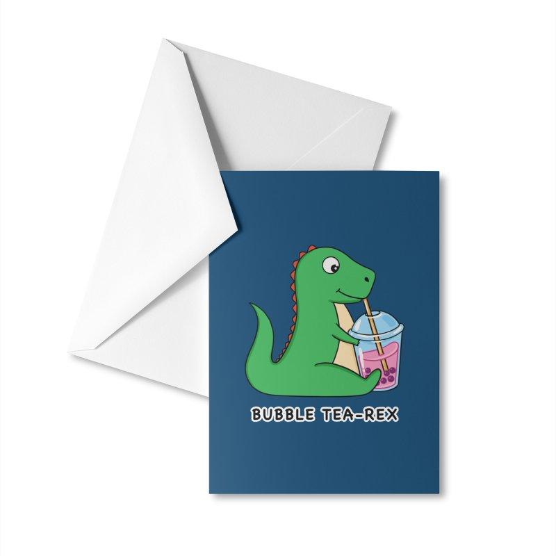Dinosaur Tea Rex Accessories Greeting Card by coffeeman's Artist Shop